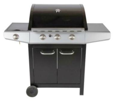 4. 3 BURNER  GAS BBQ + SIDE BURNER